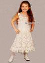 Нарядное кружевное платье для девочки 5 лет. Крючок