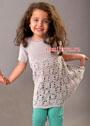 Для девочки до 1,5 лет. Летнее платье с «паучками». Крючок
