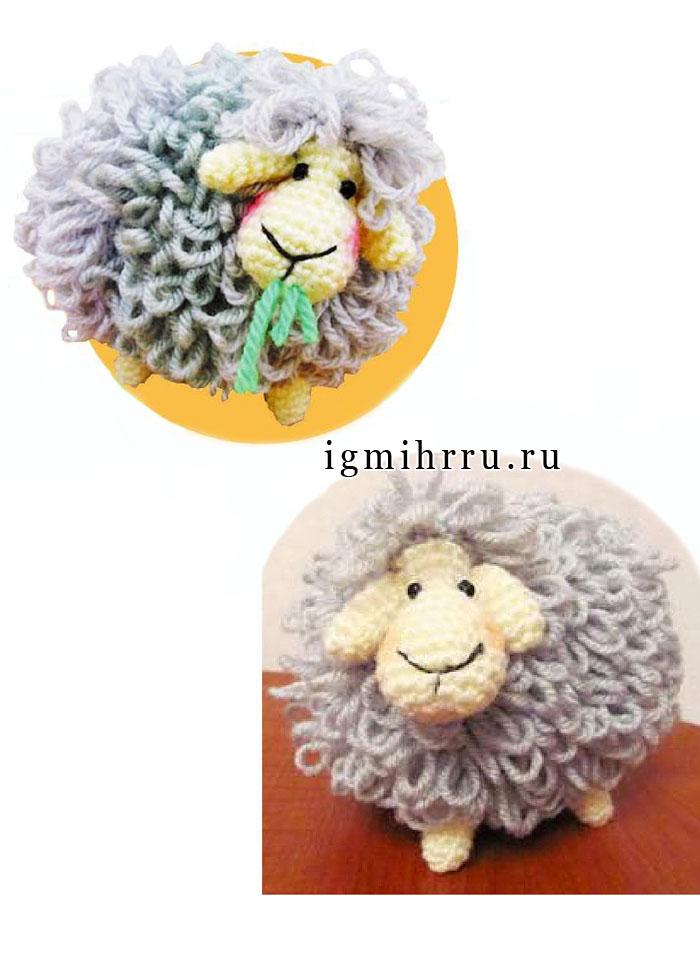 Свяжем символ 2015 года! Кудрявая овечка. Крючок