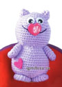 Игрушка Мартовский кот. Крючок