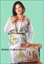 Ирландское кружево. .  Сказочная красота из цветочных мотивов: жакет и сумка. .  Крючок.