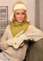 Зимний комплект: двухсторонняя шапка-ушанка, варежки и шарф-шраг. Крючок и Спицы