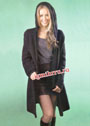Черное пальто с капюшоном. Крючок