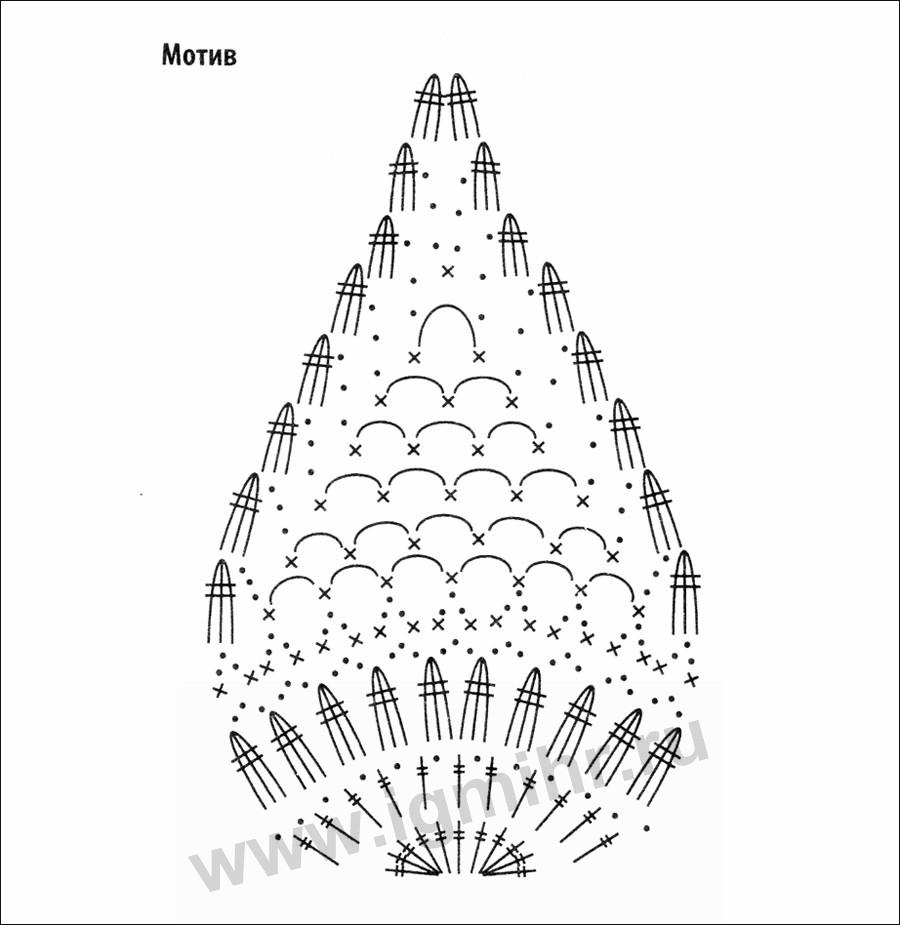 Схема Вязания Блузки Ананас Крючком