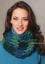 Свяжем быстро модный шарф-хомут. Крючок
