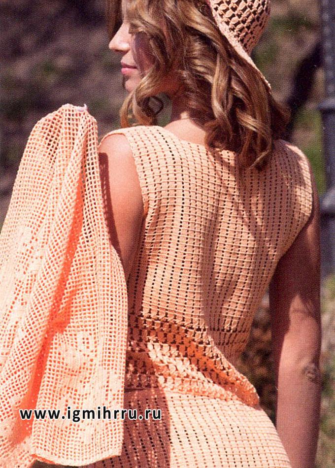 钩针:桃色夏季套装 - maomao - 我随心动