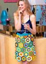 Летняя юбка из цветных мотивов. Крючок