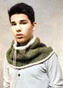 Мужской теплый шарф-воротник. Спицы