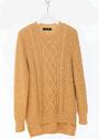 Для полных дам. Пуловер с жемчужным узором и ромбами. Спицы