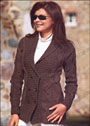 Вязаные спицами пальто, кардиганы, пончо для женщин, схемы.