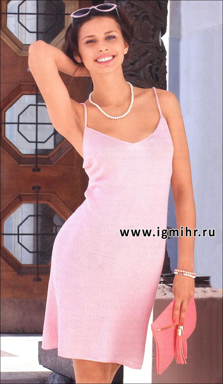 Летние платья крючком со схемами и описанием фото 734