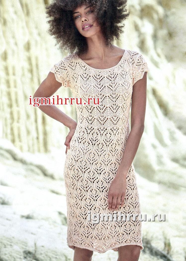 ажурное вязание спицами летнее