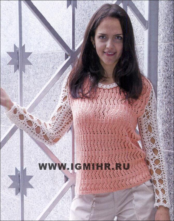 Вязание модели комбинированные