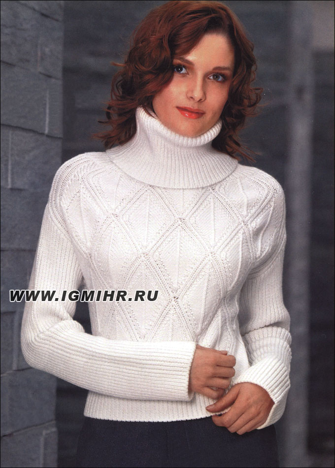 Классический Пуловер Женский