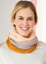 Мини-шарфы Петля. Спицы