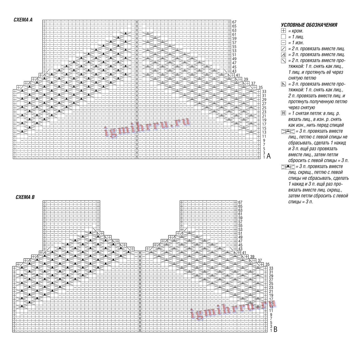 Узор «звездочки» спицами Что можно вязать, используя узор «звездочки»? 18